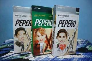 Paket Pepero Exo