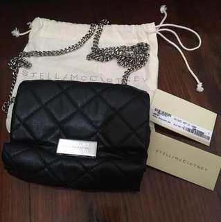 Stella McCartney quilted small shoulder bag