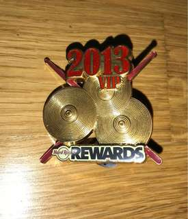 HARD ROCK Pincraft VIP 2013 (Price Inclusive Postage)