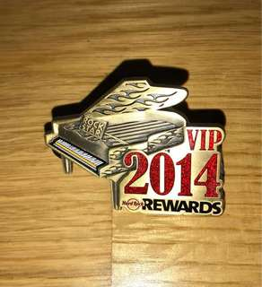 HARD ROCK Pincraft VIP 2014 (Price Inclusive Postage)