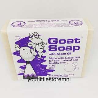 Goat Soap With Argan Oil