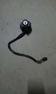 Honda shadow ignition and seat lock