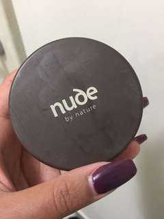 Nude by nature mineral cover powder