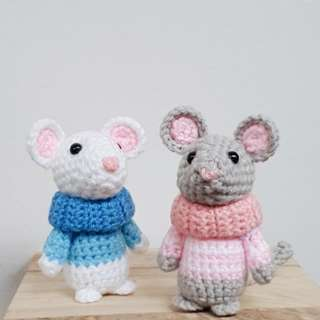 Crochet cute mouse