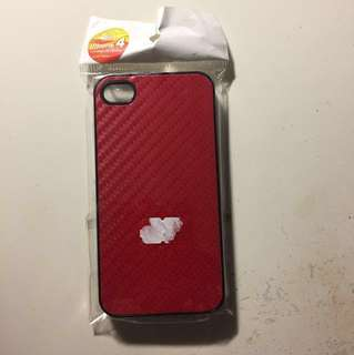 iPhone 4 手機殻(紅色/黑色/透明) case (red/black/transparent)