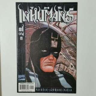 The Inhumans No.1 book
