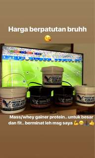 Protein Mass gainer and Whey