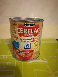 Cerelac Nestle Brown Rice Baby Cereal