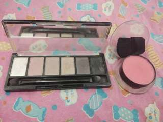 2in1 Preloved EB eyeshadow palette and EB Advance Cheek Color