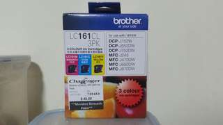 Brother LC161CL 3PK 3 Color Ink Cartridge