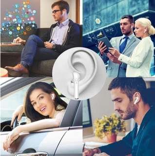 🚚 Newest Business StyleTwins Bluetooth Earphone i7 TWS Wireless Headphones V4.2 Stereo with micro Hand Free calls Anti-Noise Intelligent Voice Prompt