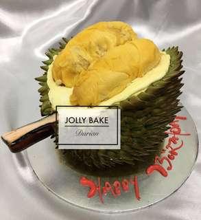 Fresh Durian Cake