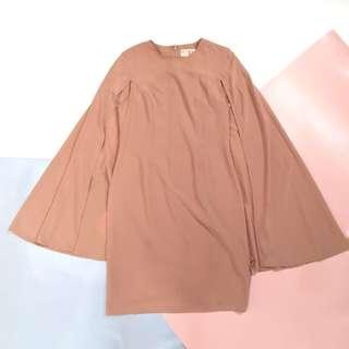 XSML cape dress