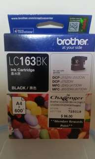 Brother LC163BK Black Ink Cartridge