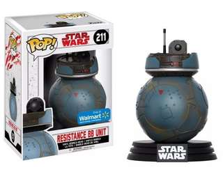 Funko Pop Starwars BB Resistance Unit Walmart Exclusive
