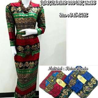 Long Dress Batik Gamis Super PREMIUM