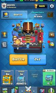 Clash Royale 4000 trophies lvl 10 legendary