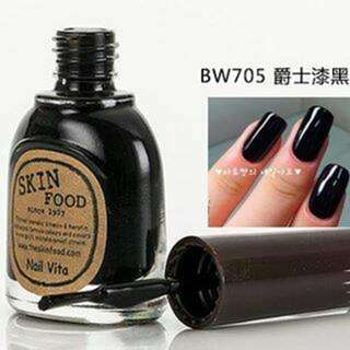 Skinfood Nail Polish / Kutek BW705 Black