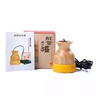 🚚 能量養生罐刮痧罐經絡能量插電陶瓷溫灸罐