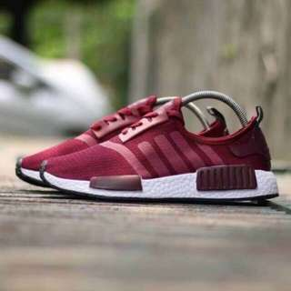 Adidas NMD R1 Red White PREMIUM