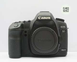 Canon Eos 5D Mark II Body Only Fullset Super Mulusss