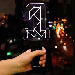 Wanna One / Produce 101 Premier Show Con Concert Unofficial Lightstick