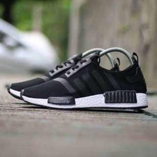 Adidas NMD R1 Black White PREMIUM IMPORT