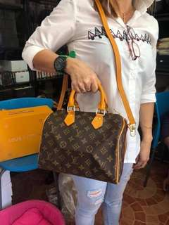Louis Vuitton's Speedy 25 in monogram!!