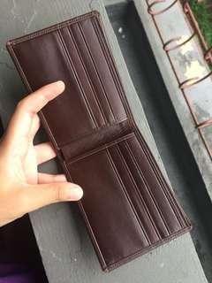 Dompet Kulit ASLI (Coklat, garut) nego tipis