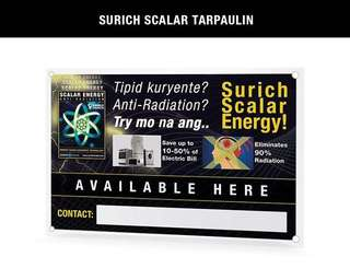 Original Surich Scalar Energy Saver Stickers