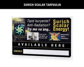 Original Surich Scalar Energy Saver Stickers