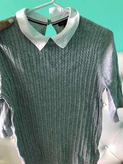 Tommy Hilfiger Knit Shirt With Collar.