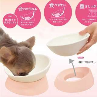 💙PO 💙NEW COLLECTION Highly Recommended Japanese Popular Special styles Ceramics Pet Food Bowl & Protect the cervical spine  for DOG 🐶 & CAT🐱