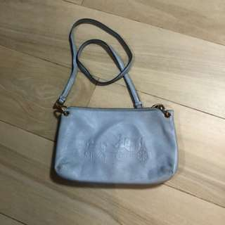 Coach light blue crossbody Bag 斜咩袋
