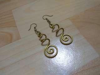 🚚 純銅飾品 不規則造型 耳環