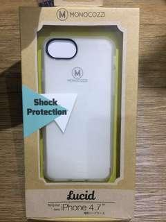 """Softcase iPhone 7 (white) """"MONOCOZI"""""""
