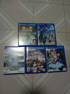 REDUCED $ PS Vita Games