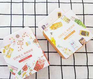 Japanese Food and Drink Pocky Ramune Fat Washi Tape