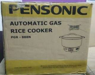 Automatic Rice Cooker LPG new set