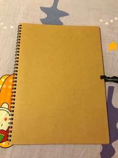 Muji Ring Notebook b4
