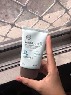 The Face Shop No Shine Sunscreen