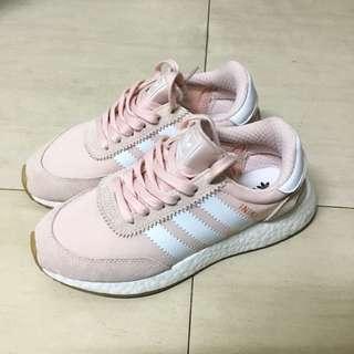 🚚 Adidas originals INIKI正品二手粉色休閒鞋