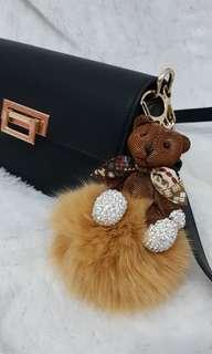 Key Chain Teddy Bear Brown