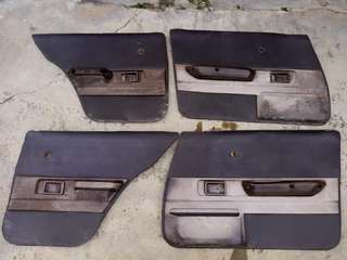 Door trim toyota corolla ke70 gl dx