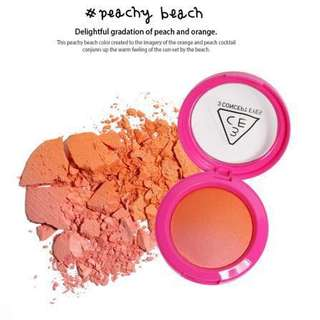 3CE Gradation Bold Blush (Peachy Beach)