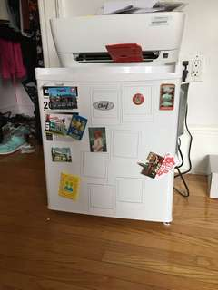 Mini Fridge from Canadian Tire originally $80 used for 1 year