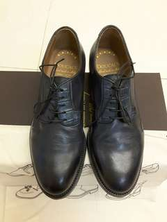 Doucal's hand made in Italy washed leather shoes