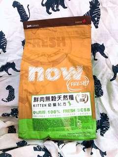 🚚 Now 幼母貓飼料 1.8公斤