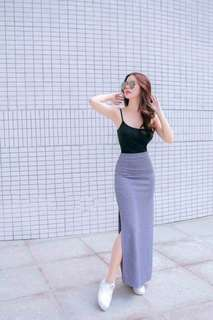Top and Slit Terno