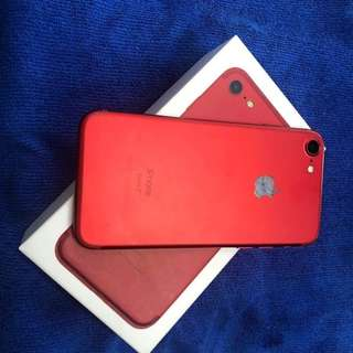 iPhone 7 128GB RED EDITION LTE READY/OPENLINE TO ALL SIM. 09089675137